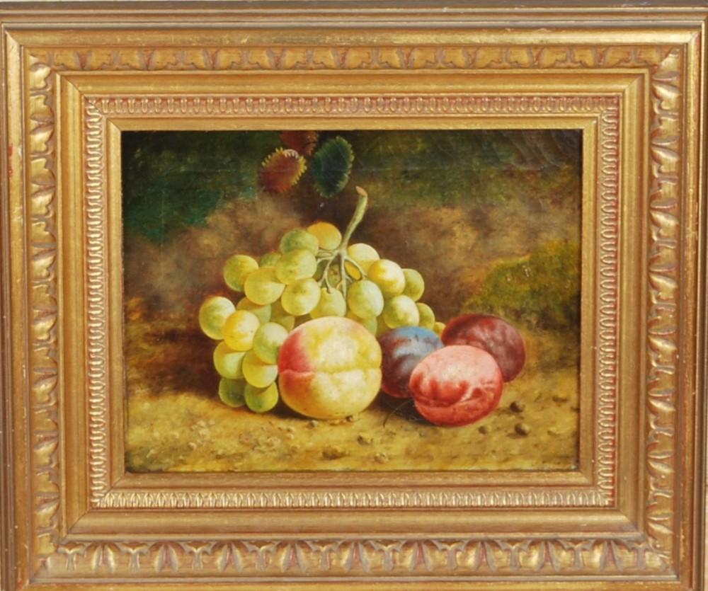 a still life of fruit c1860