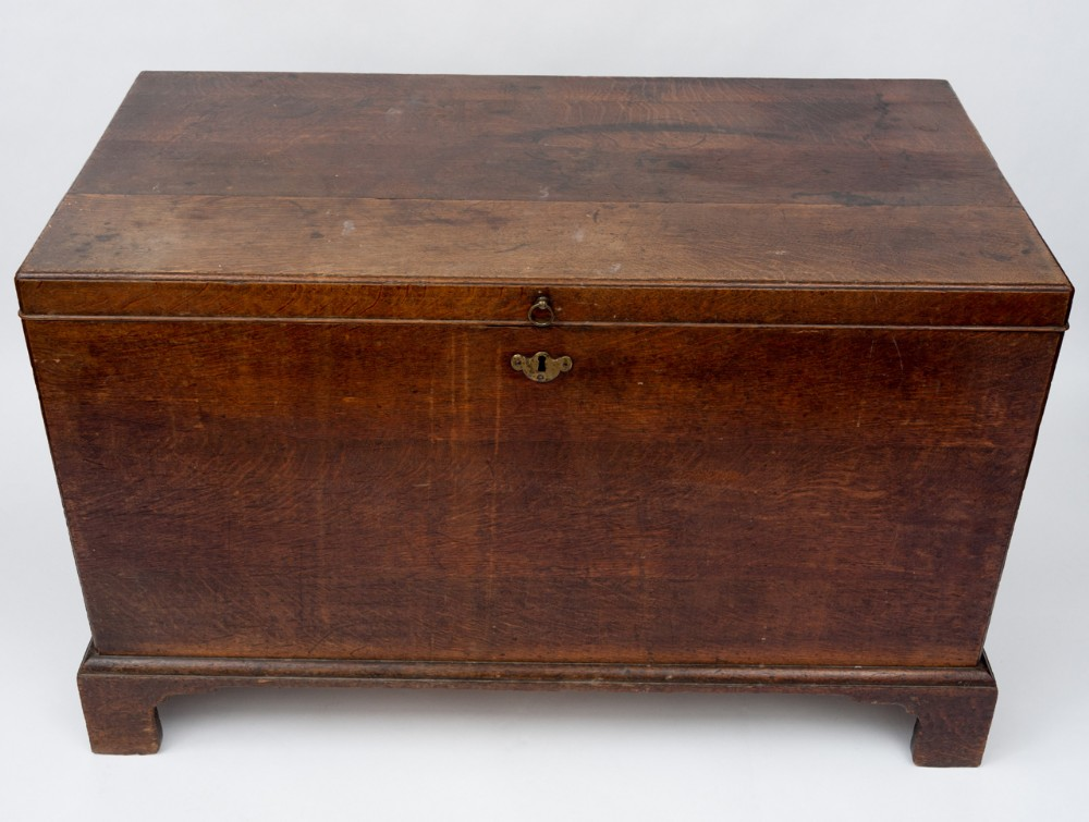 george ii oak silver chest