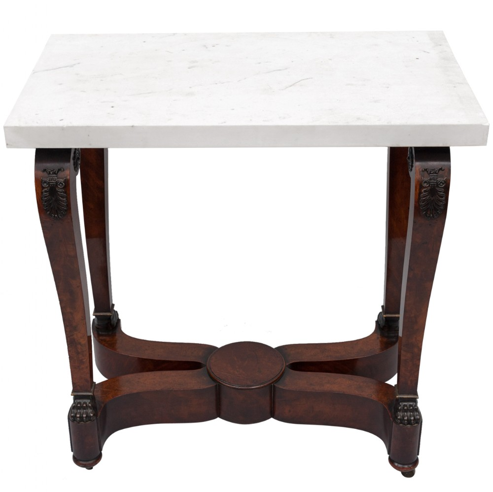 early c19th french empire centre table