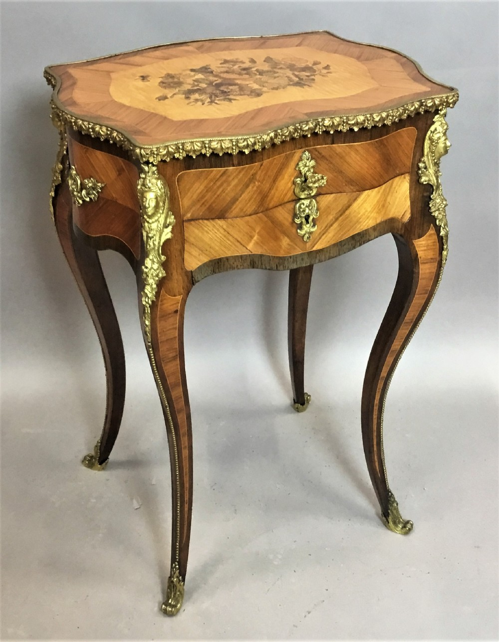 c19th french vanity table sewing table by tahan paris