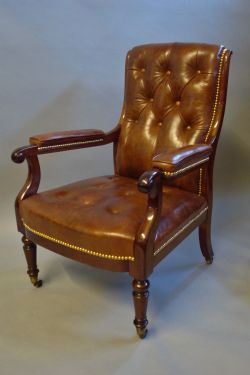 Gary Wright Antiques LtdAntique Library Chairs   The UK s Largest Antiques Website. Antique Library Armchairs. Home Design Ideas