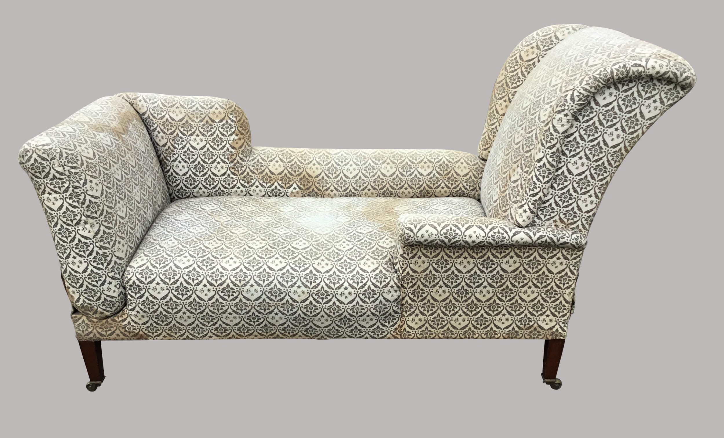 c19th howard and sons reclining daybed
