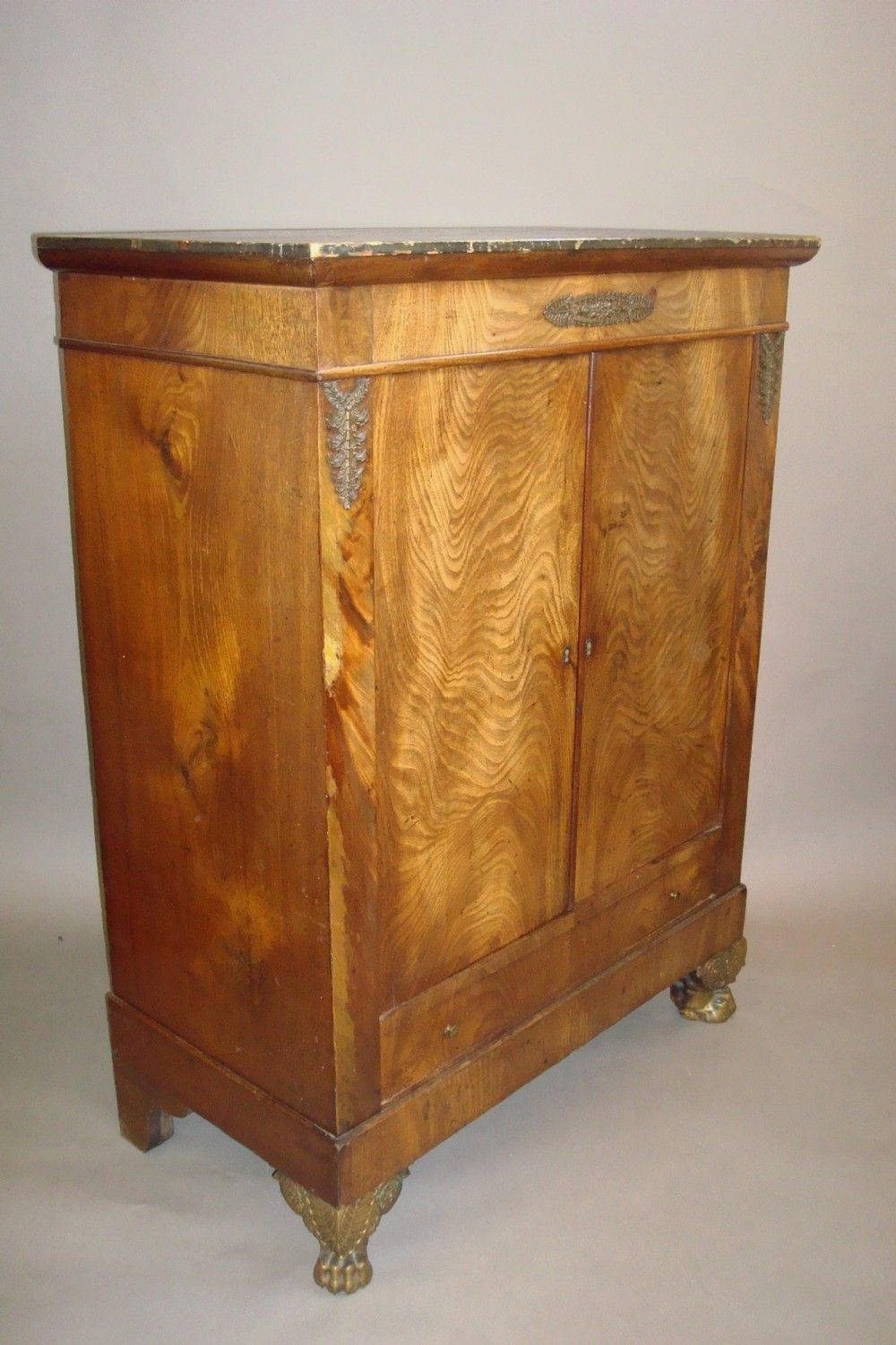 early c19th french empire side cabinet
