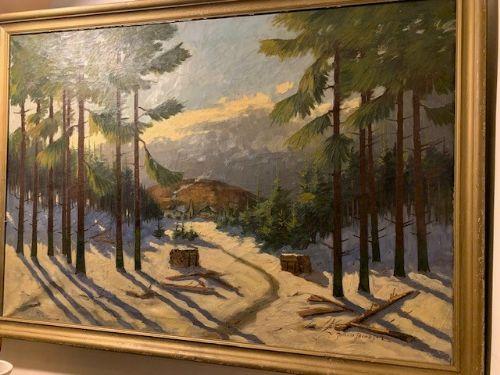johann jacobsen 18831953 danish oil on canvas johann jacobsen 18831953 danish