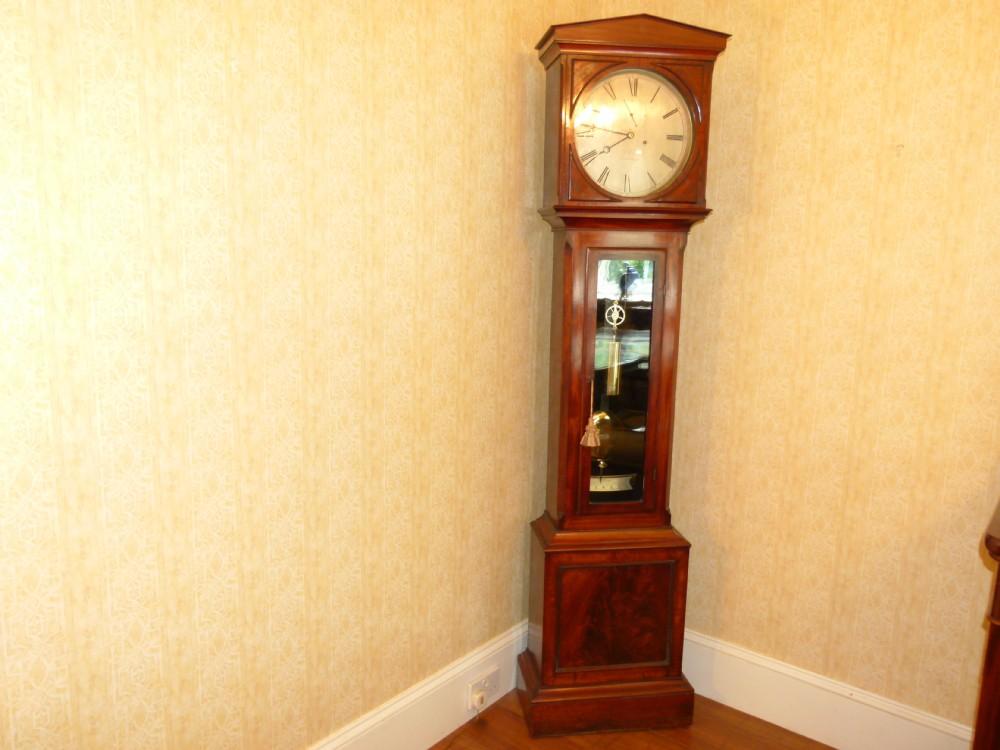 long case regulator clock