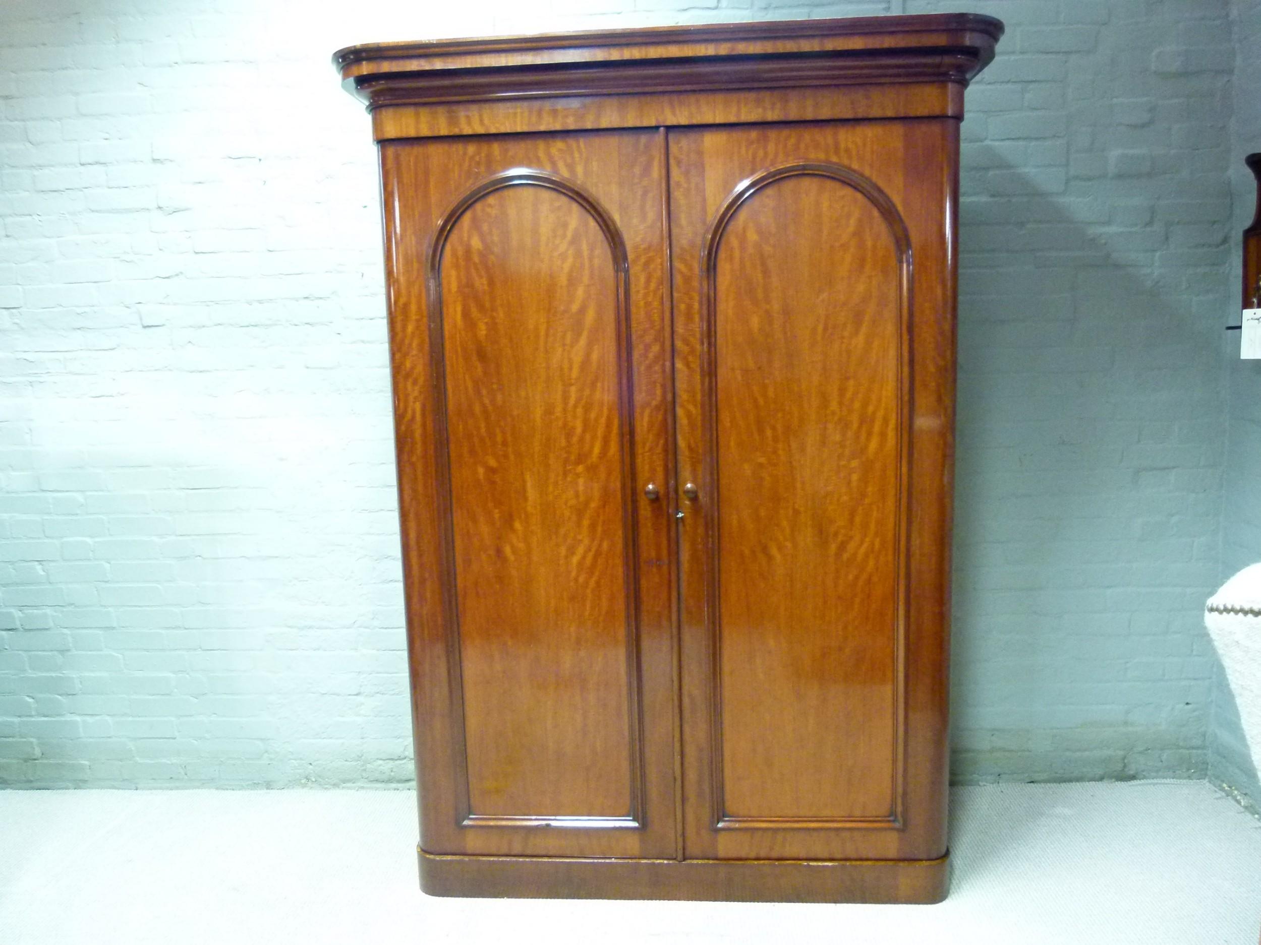mahogany wardrobe