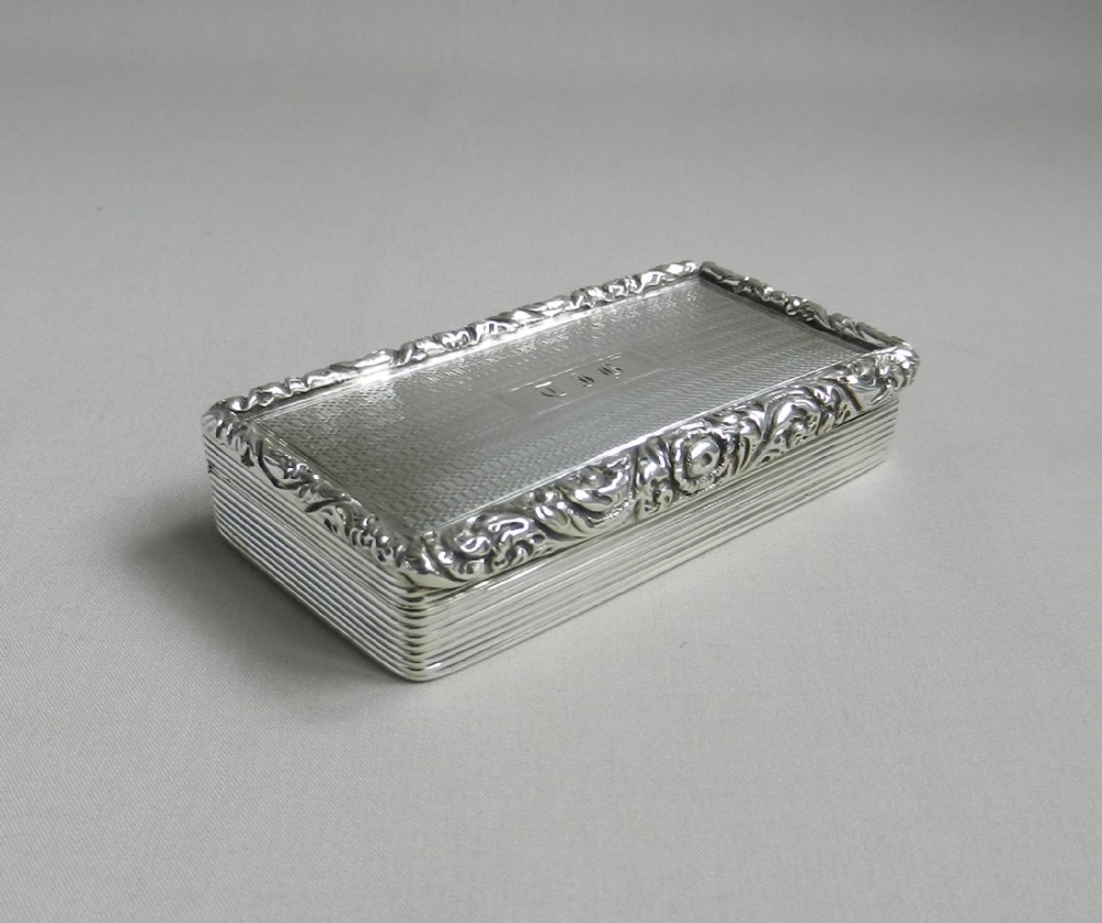 Antique Silver Snuff Box | 243440 | Sellingantiques.co.uk