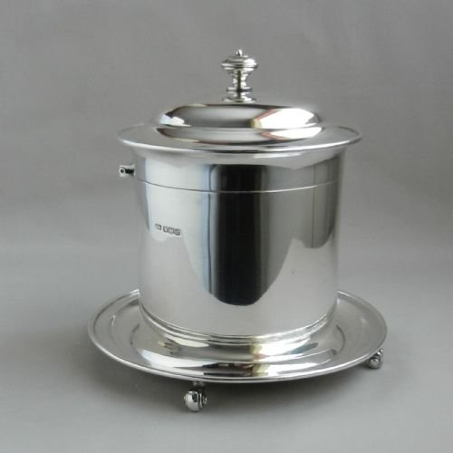 silver biscuit barrel