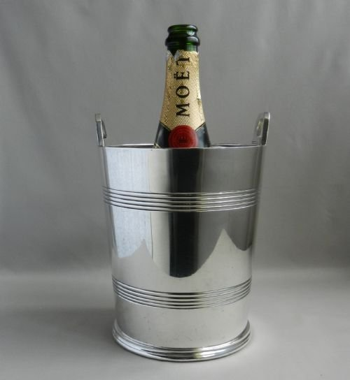 silverplated champagne bucketwine cooler