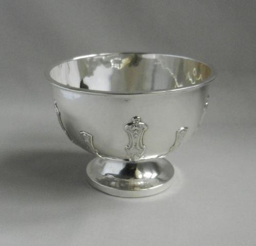 antique silver bowl
