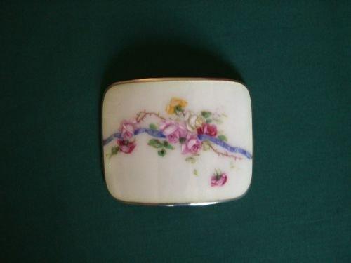 antique enamelsilver buckle