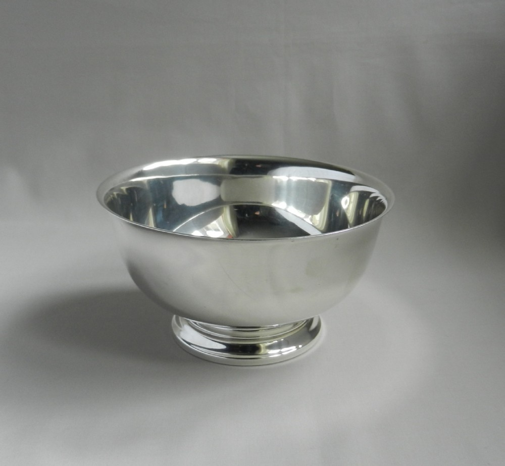 silver paul revere pattern bowl