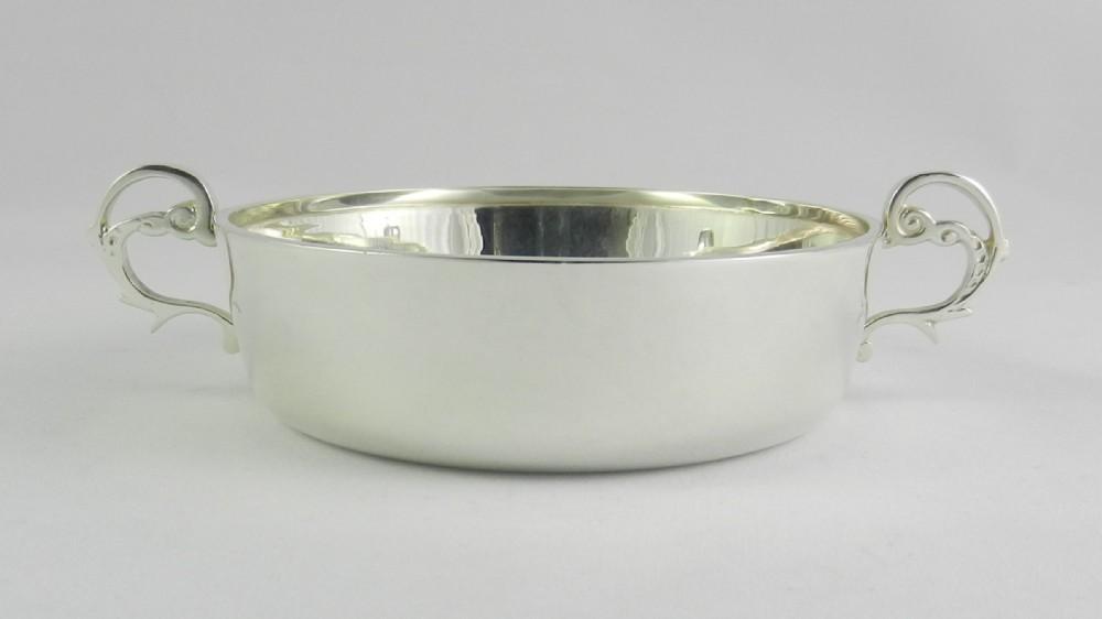 silver wine taster bowl