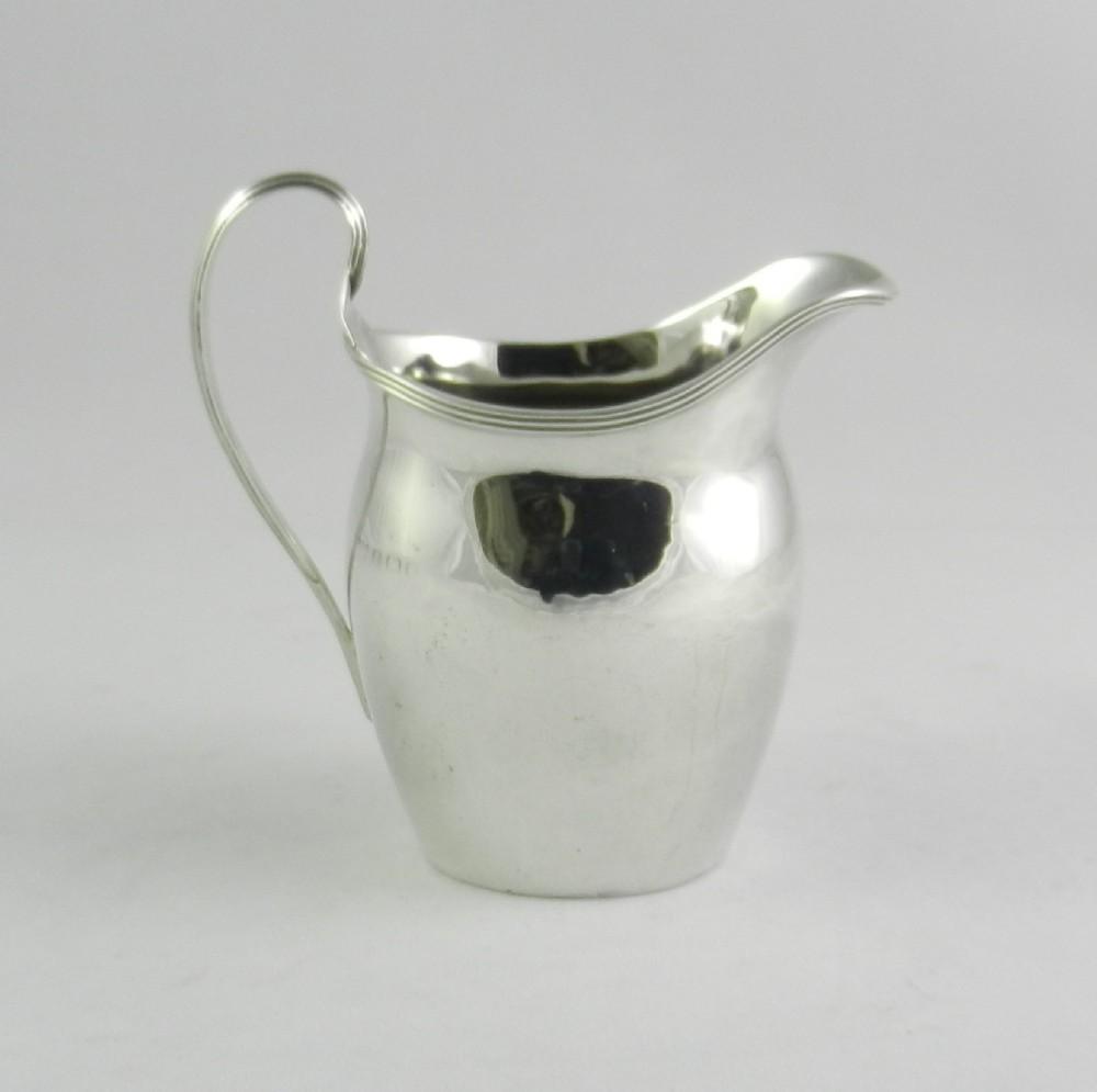 silver cream jug