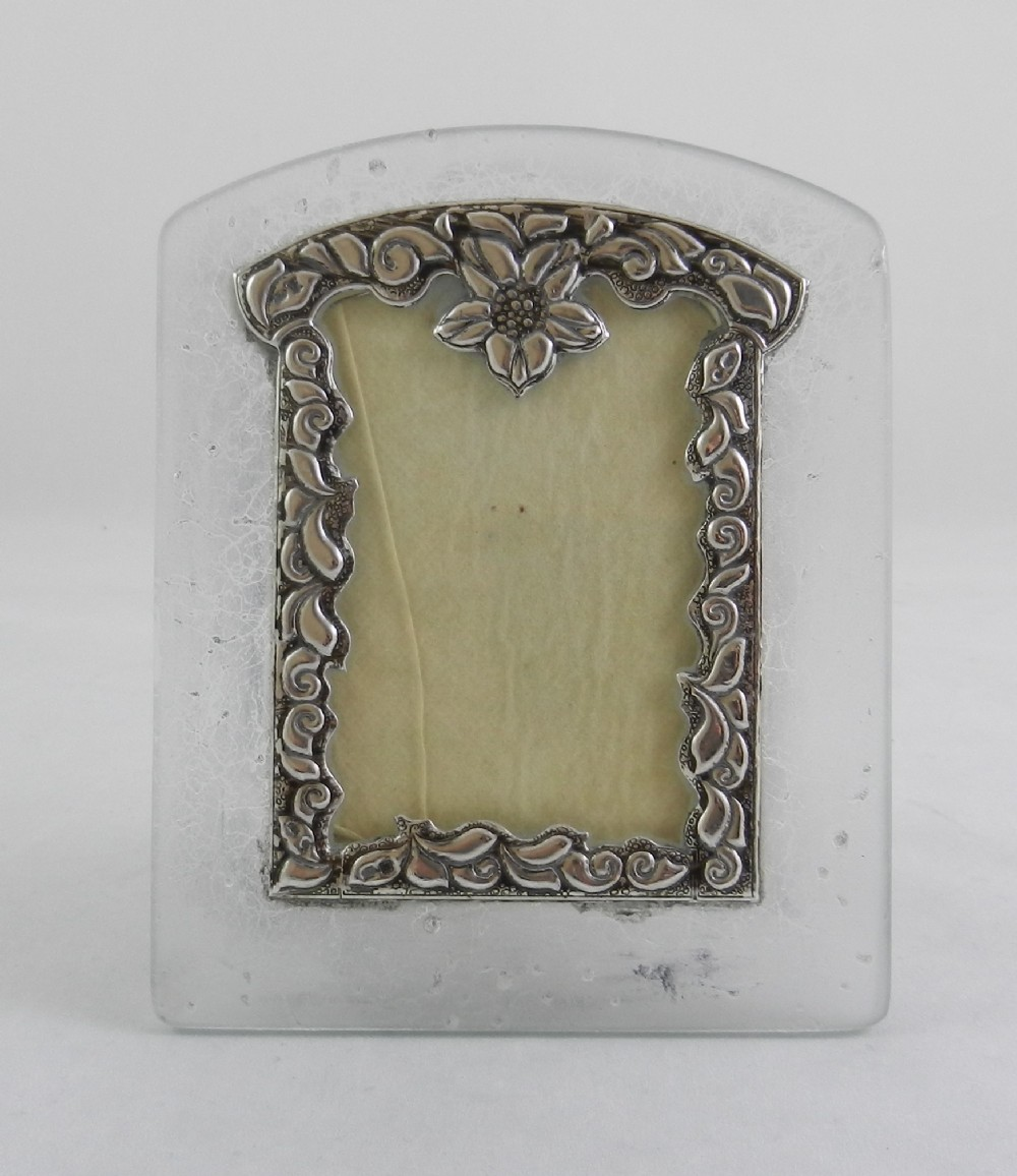 silver mounted photo frame
