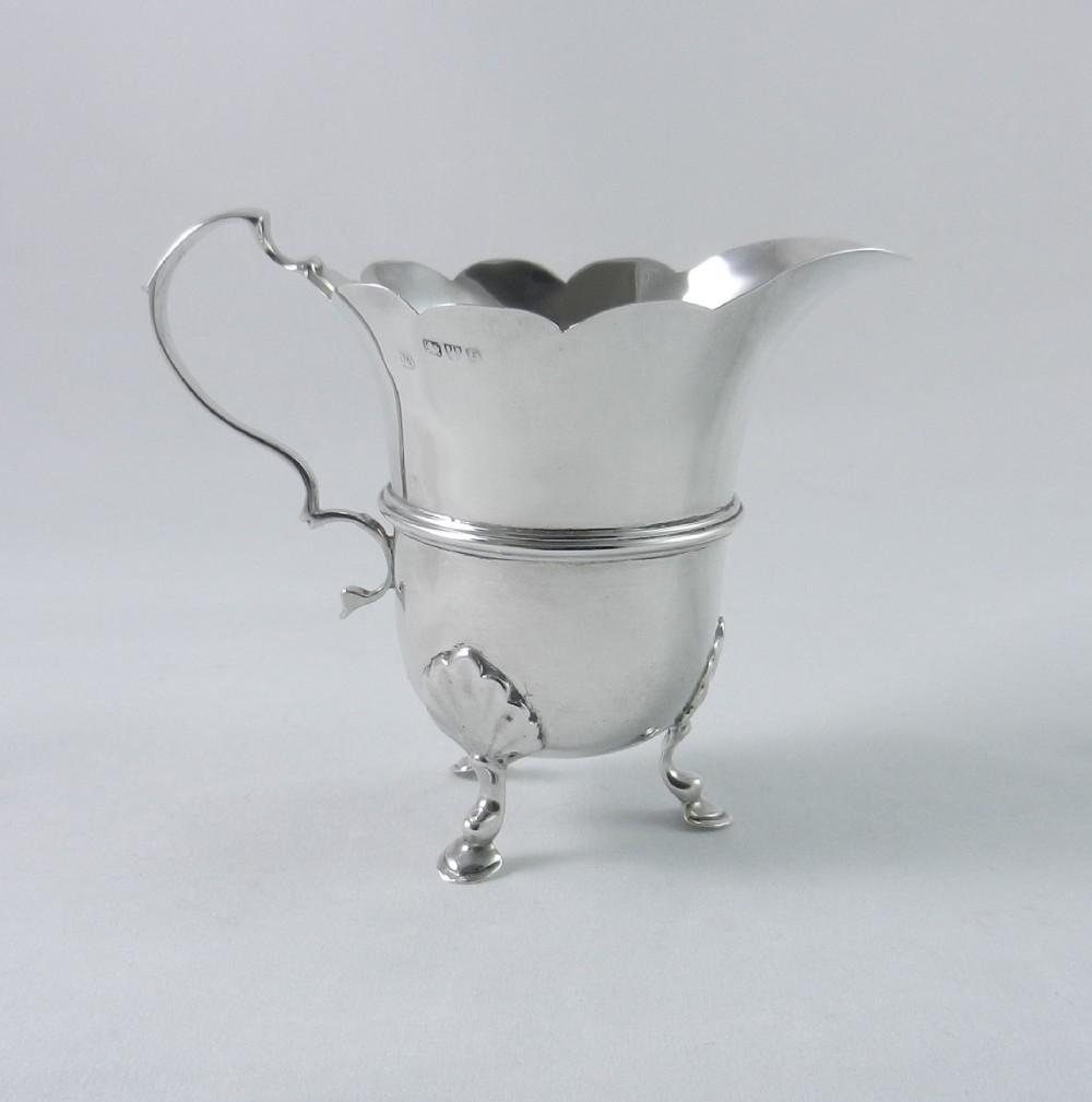 antique silver cream jug