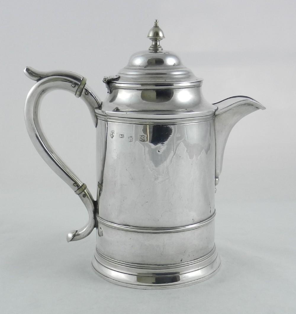 geoi silver ale jug