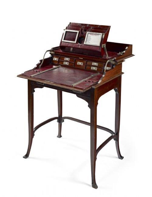 campaign desk. antique photo - Campaign Desk 74392 Sellingantiques.co.uk
