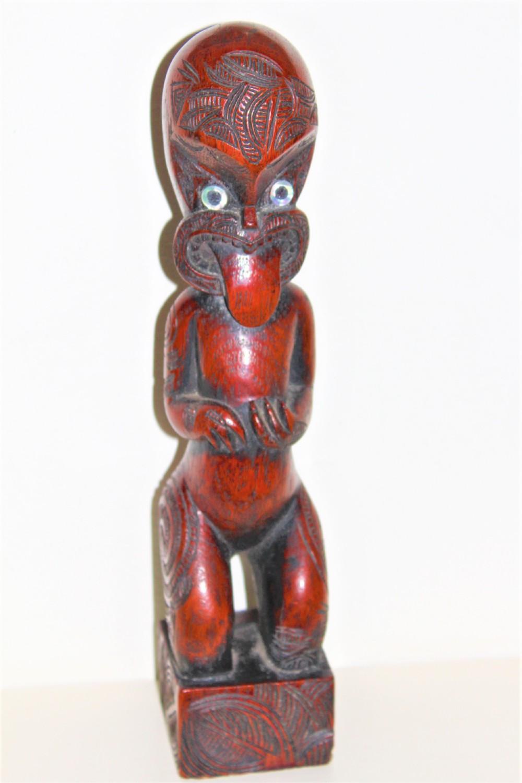 a maori southsea islands hardwood figure