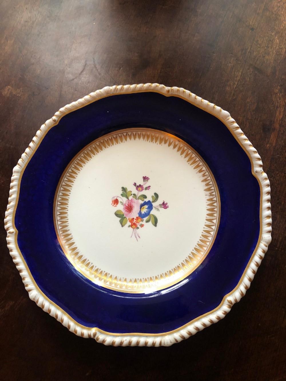 superb bloor derby plate circa 1825