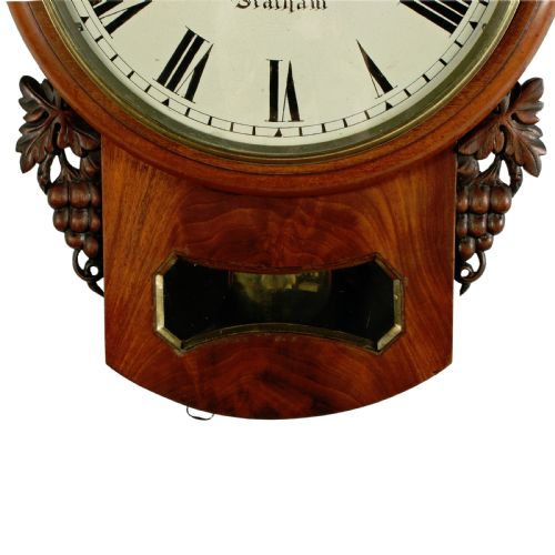 19th Century Fusee Wall Clock 577720 Sellingantiques Co Uk