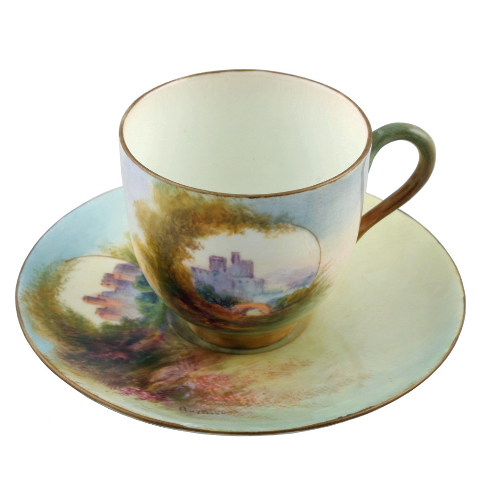 royal worcester china cup saucer