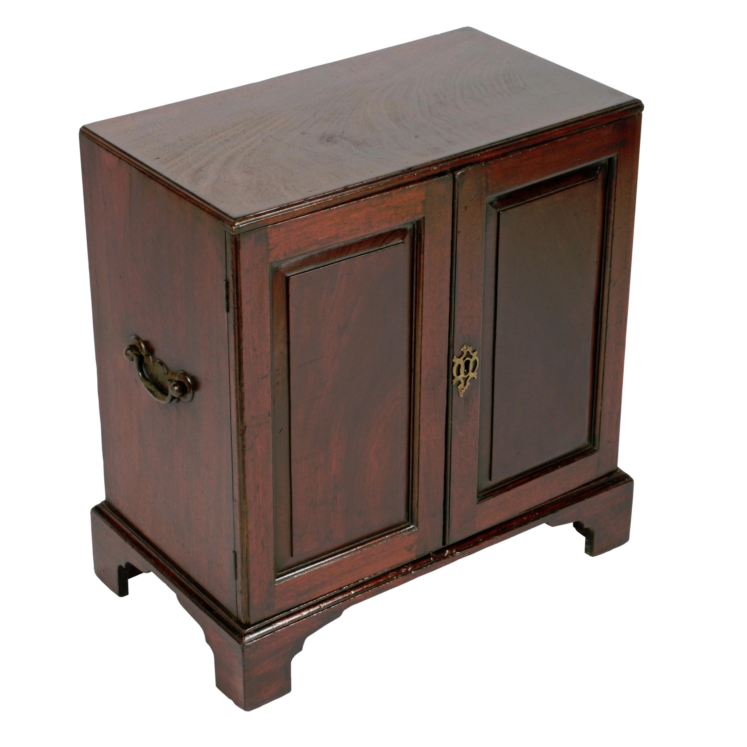 18th century mahogany table cabinet