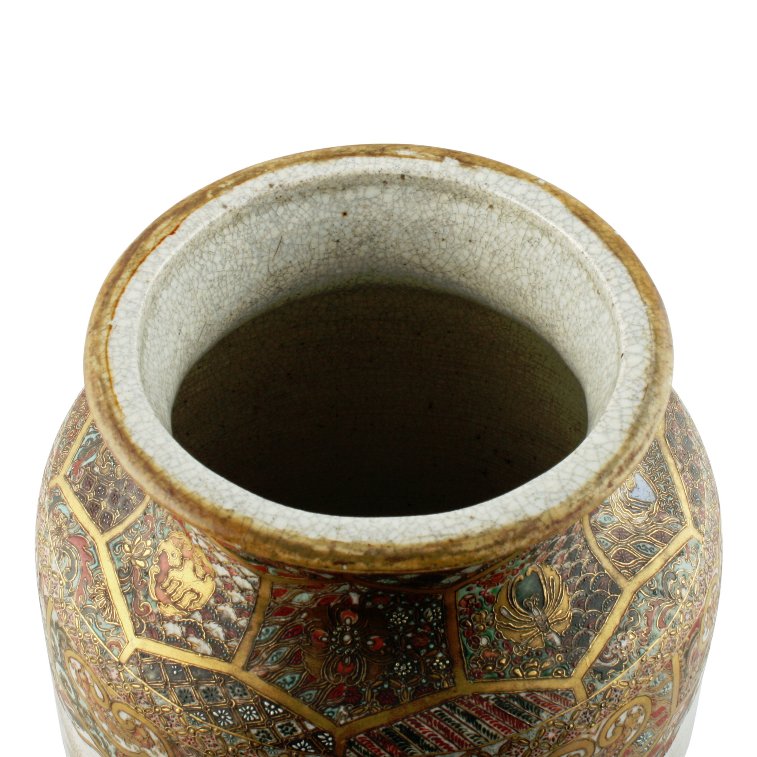 19th century japanese satsuma pottery vase 525870 thank you reviewsmspy