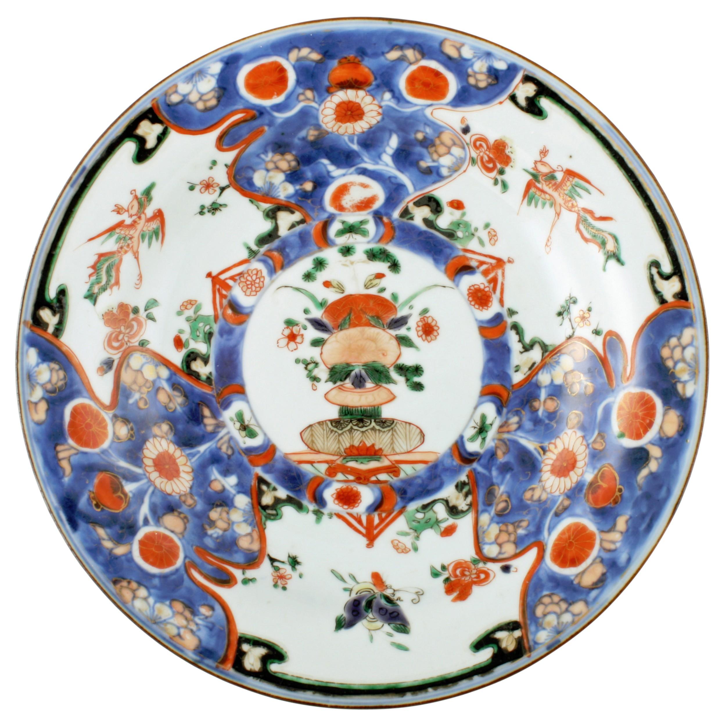 chinese qing kangxi plate