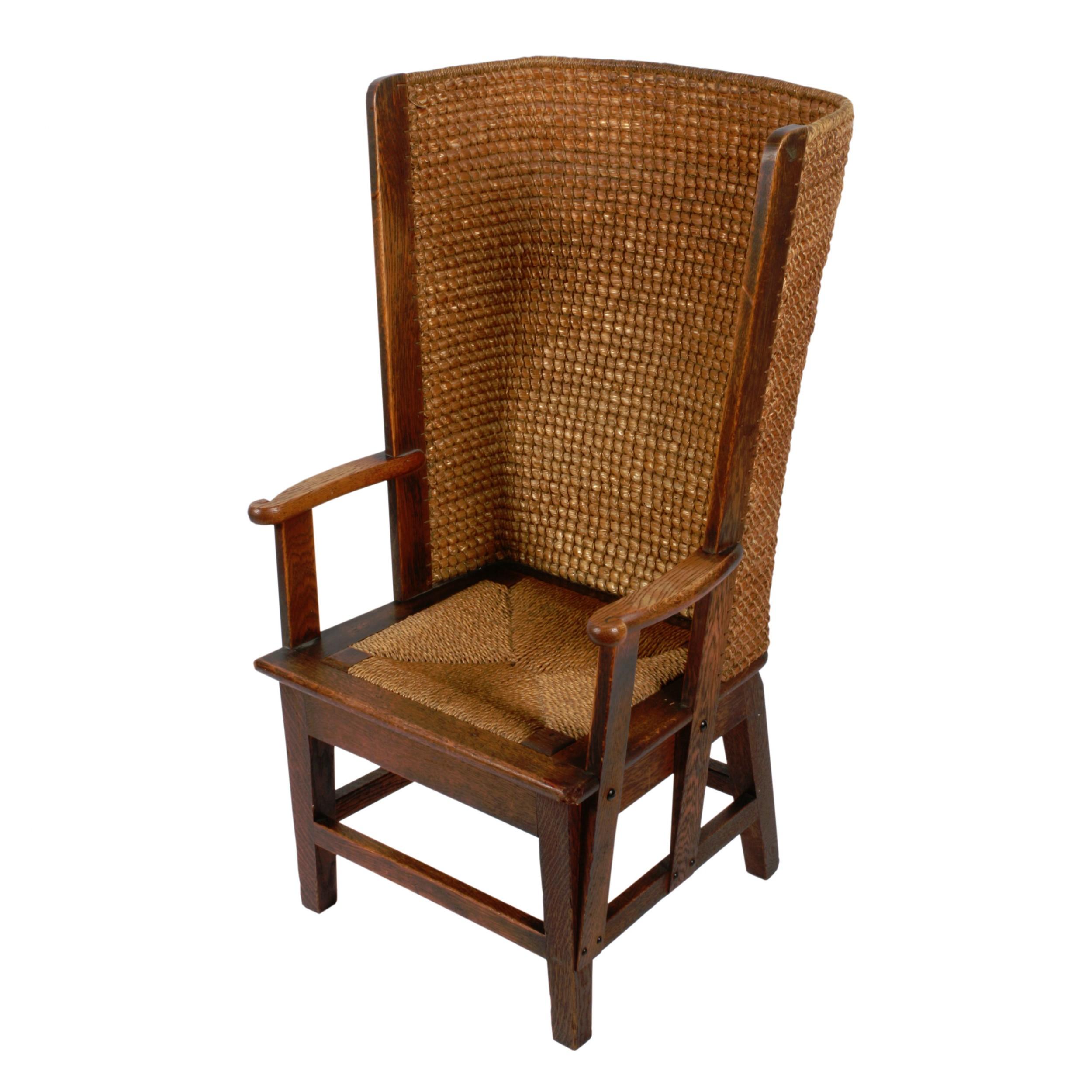 scottish oak orkney chair