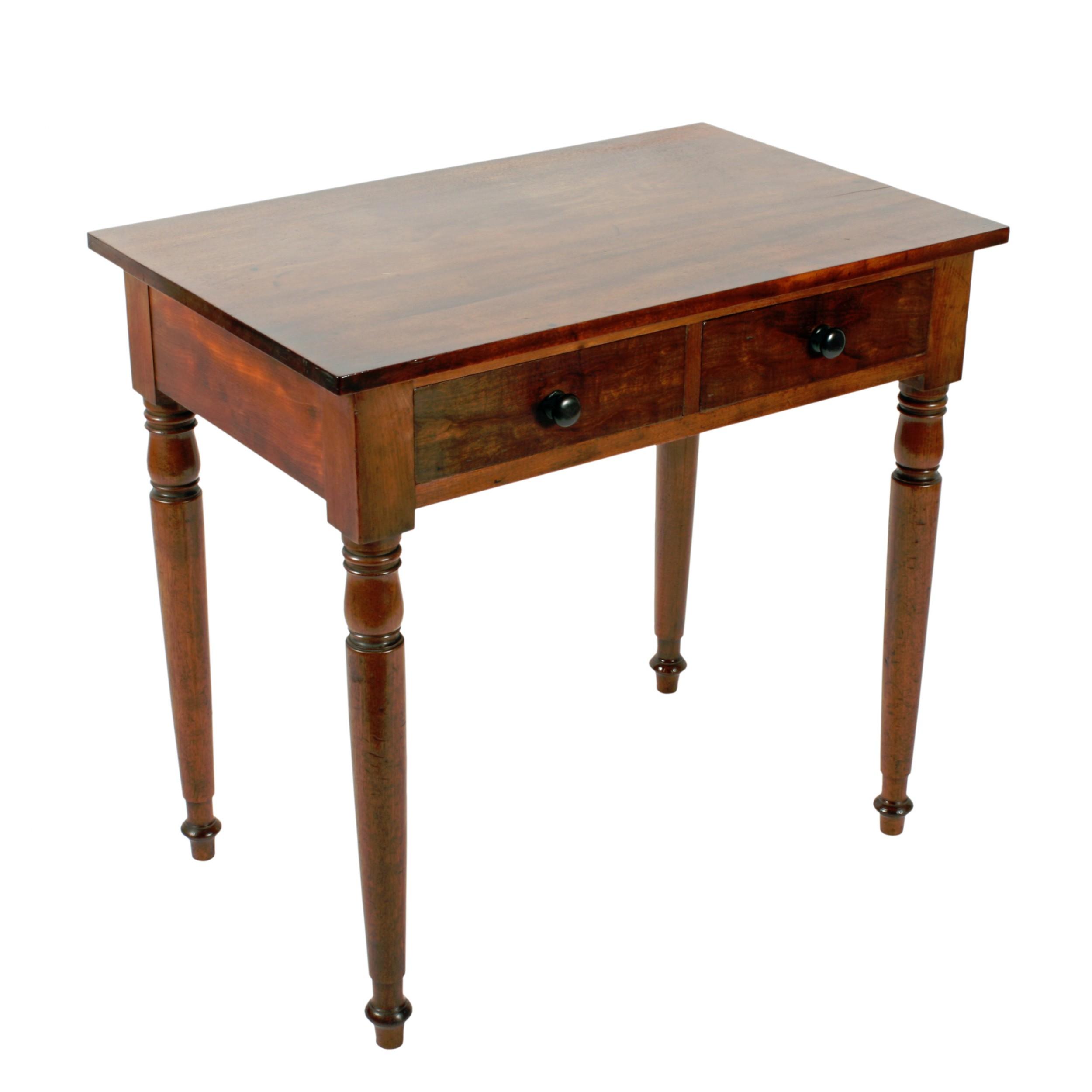 georgian mahogany side table