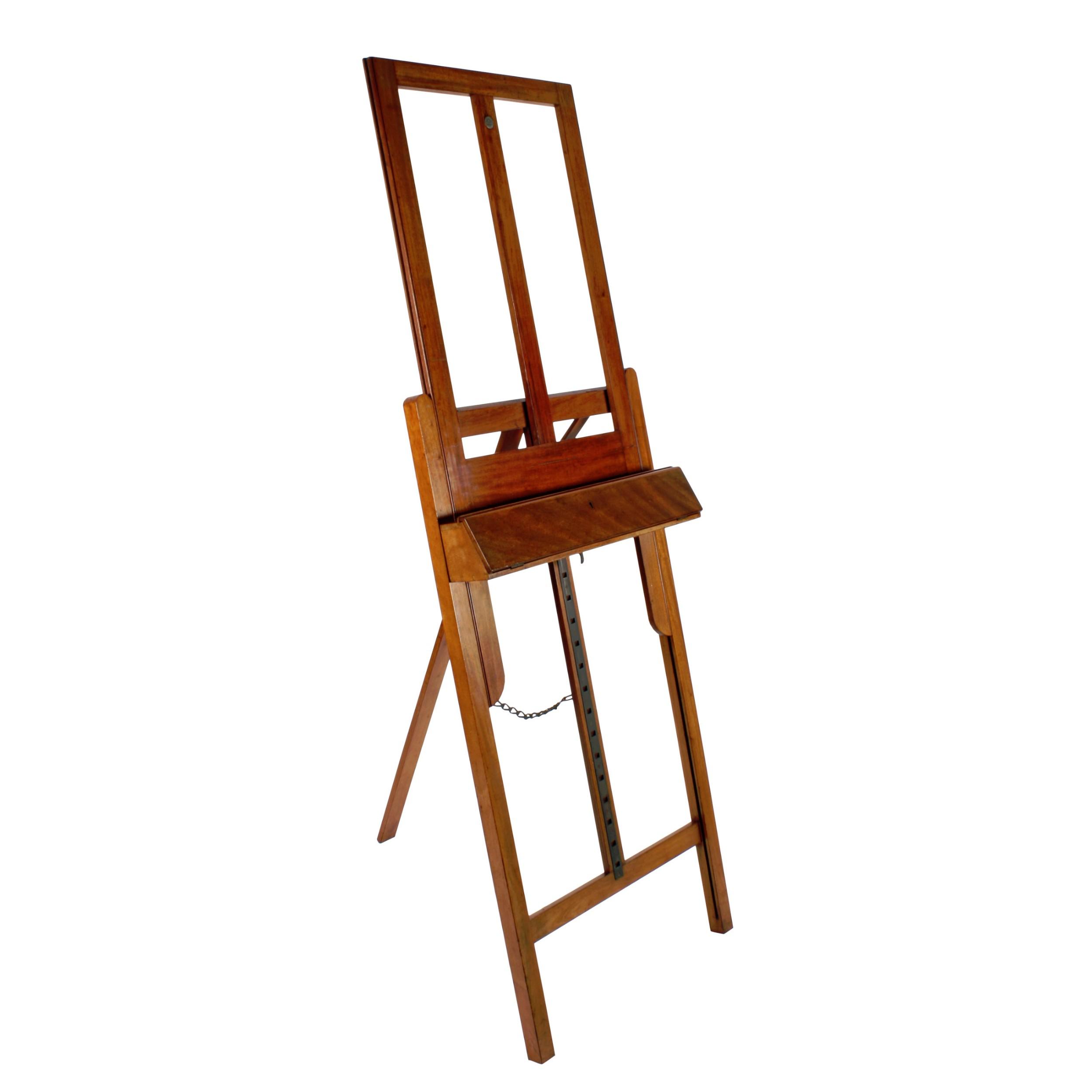 roberson co mahogany artist's easel