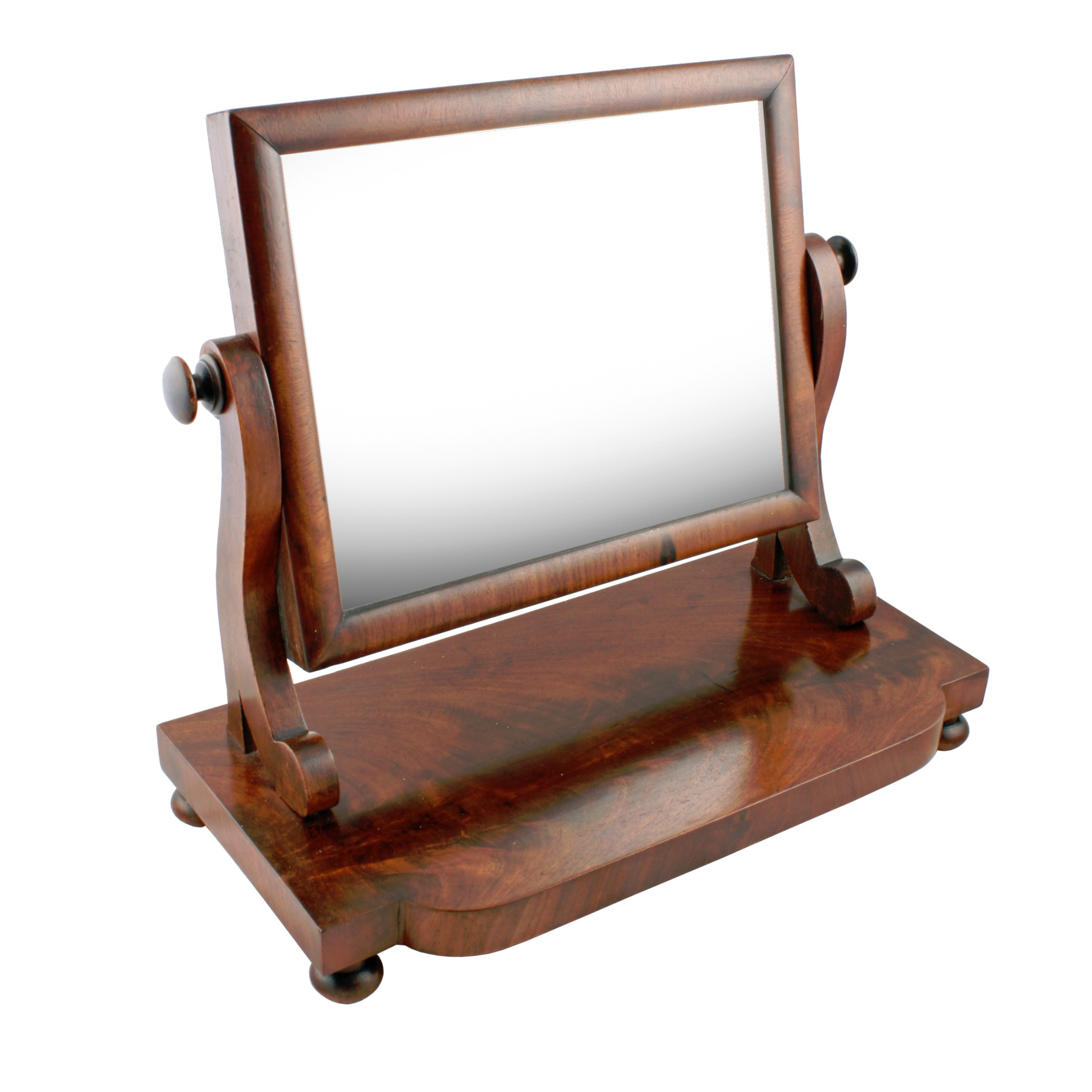 small mid 19th century dressing mirror