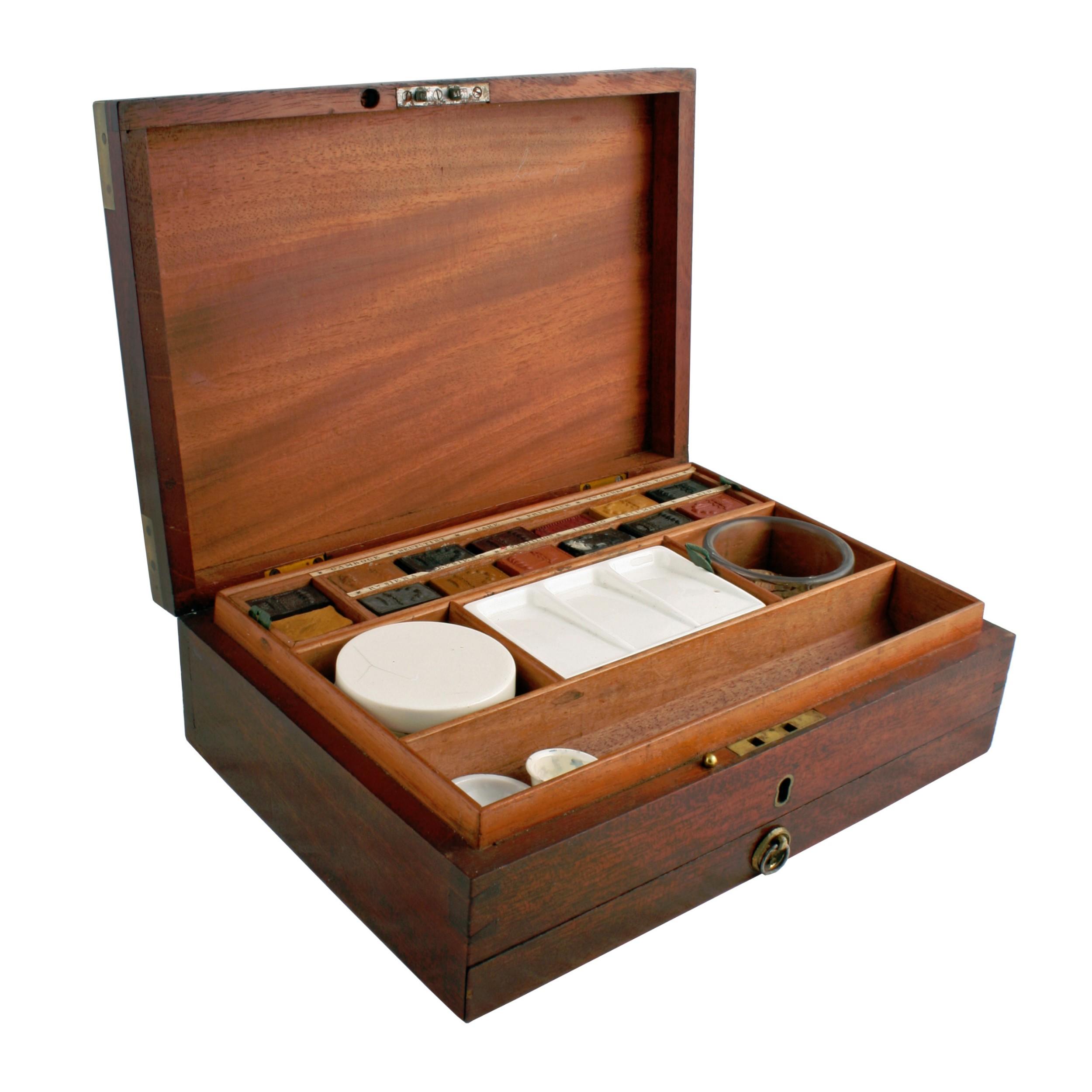 newman's artist's paint box