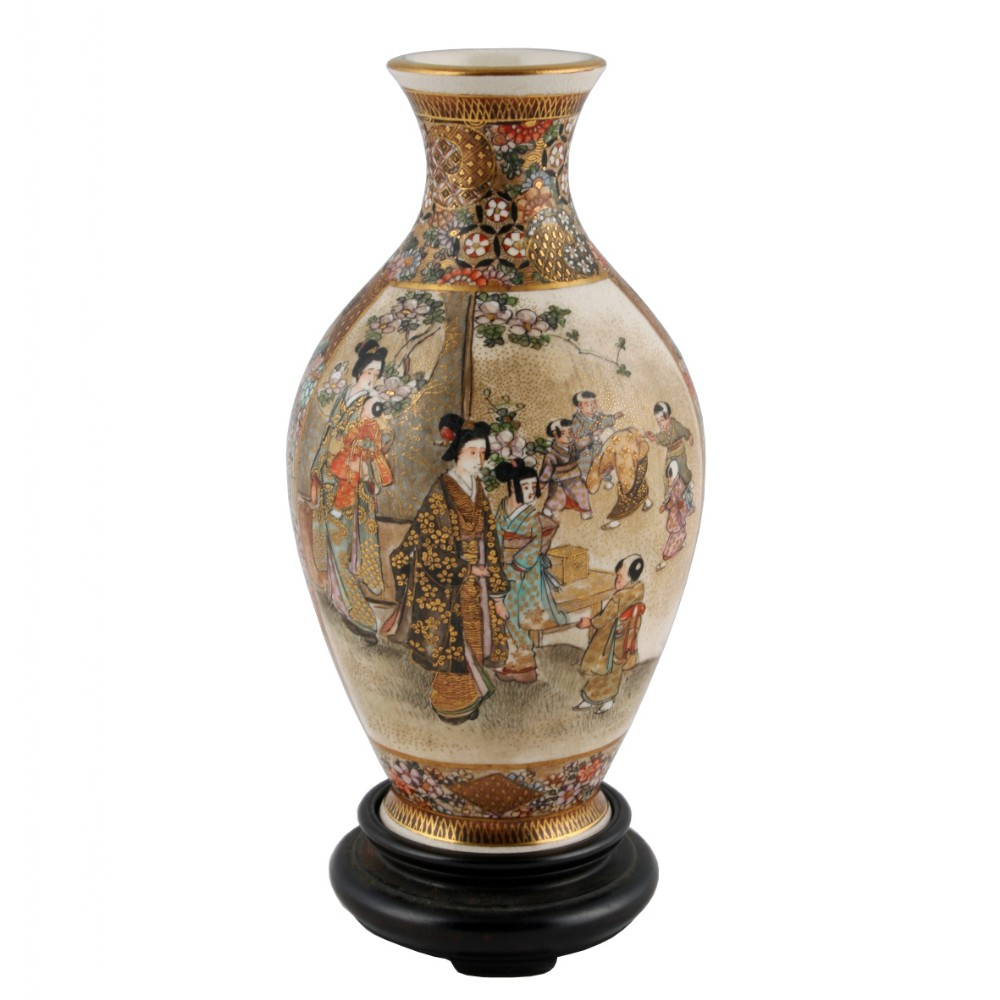 Top 28 japanese vases 302 found lovely quality pair for Asian antiques uk