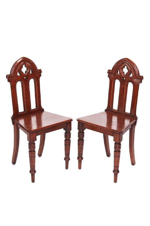 Dated Victorian  sc 1 st  Selling Antiques & Antique Gothic Chairs - The UKu0027s Largest Antiques Website