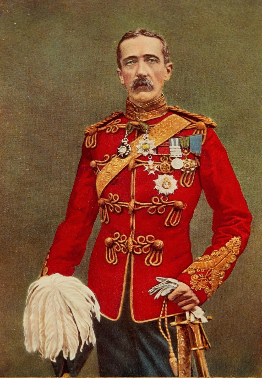 major general sir john charles ardagh lithograph 1900