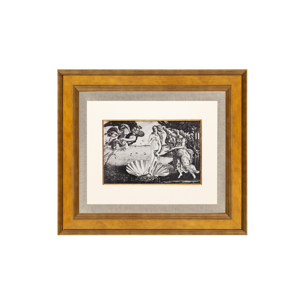 the birth of venus lithograph after sandro botticelli 1925