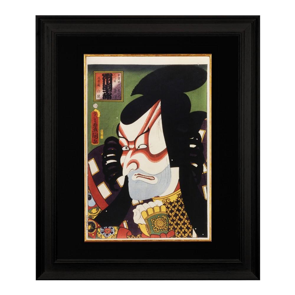 kabuki actor utagawa kunisada fine art print 1958