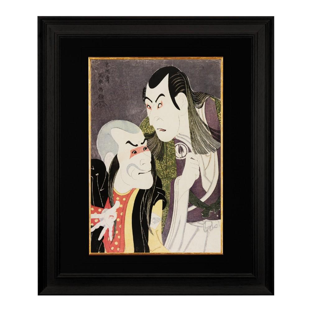 the actor sawamura yodogoro ii sharaku fine art print 1958