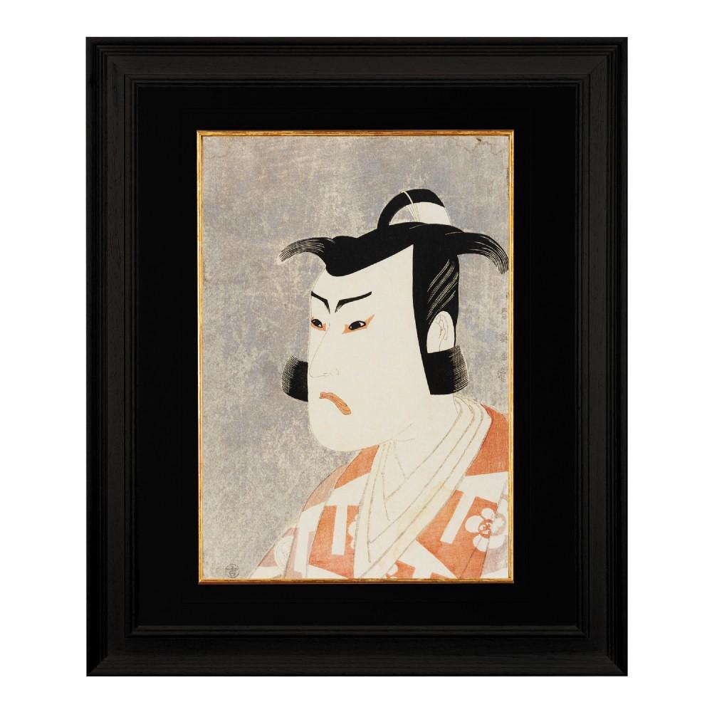 the actor bando hikosaburo iii katsukawa shun'ei fine art print 1958