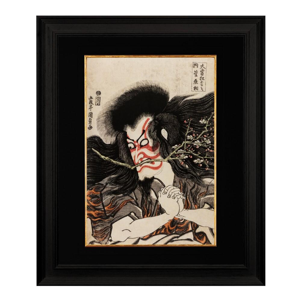 actor kan shojo c1815 utagawa kunisada fine art print 1958