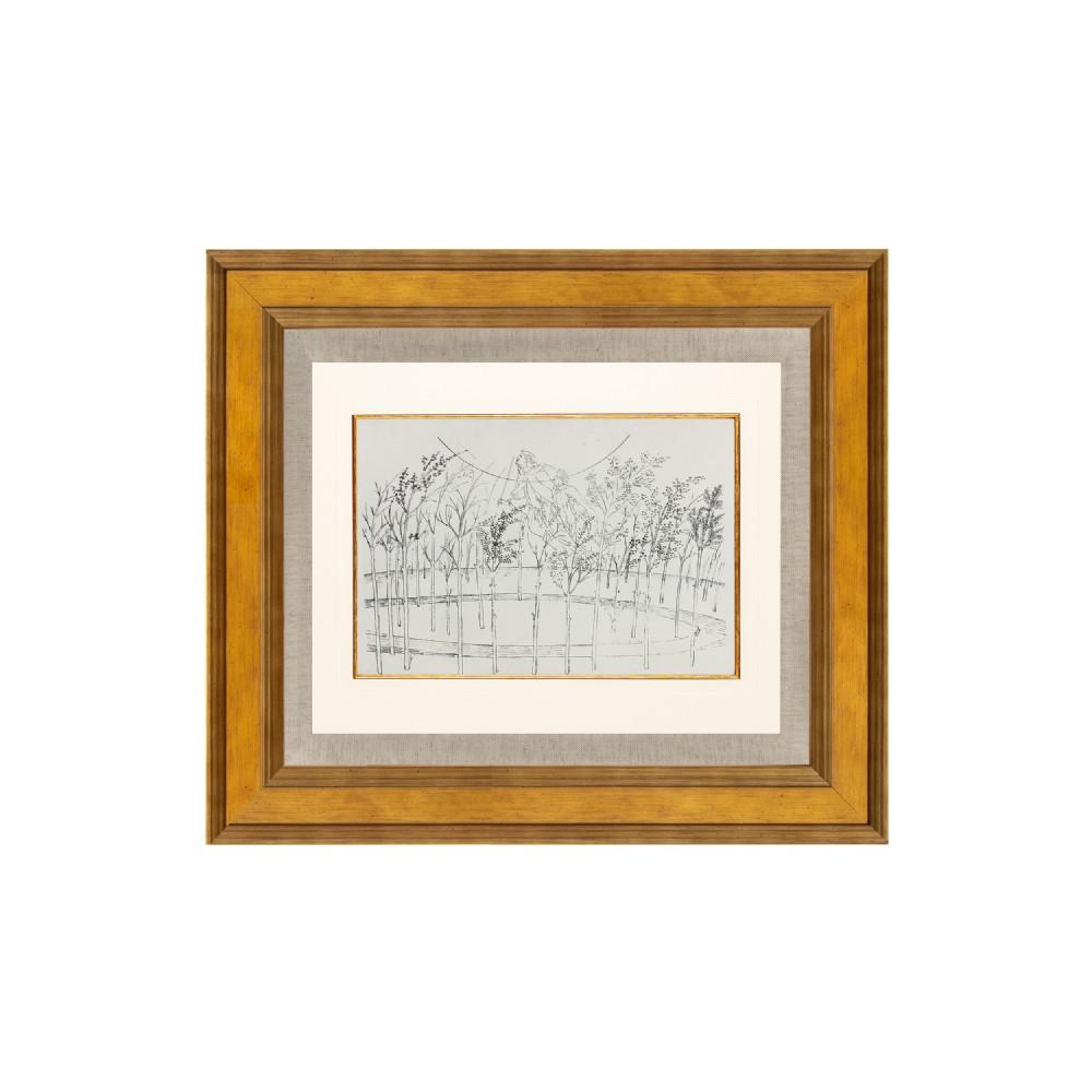 paradiso divine comedy canto i lithograph after sandro botticelli 1925