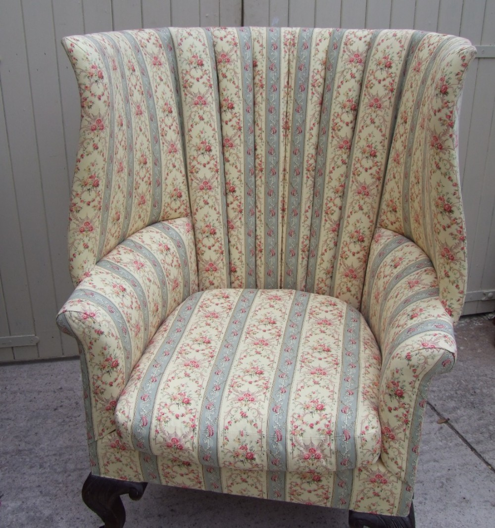 stunning 19th century howard and sons chair