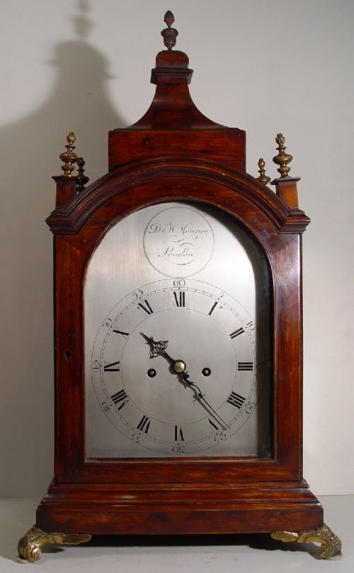 an english regency style 1840 rosewood bracket clock by the high quality makers d w maurice london