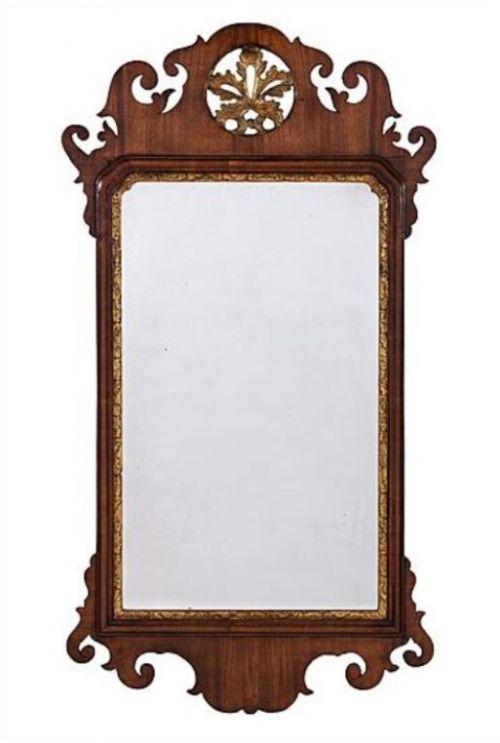 george iii mahogany swansea mirror circa 1760