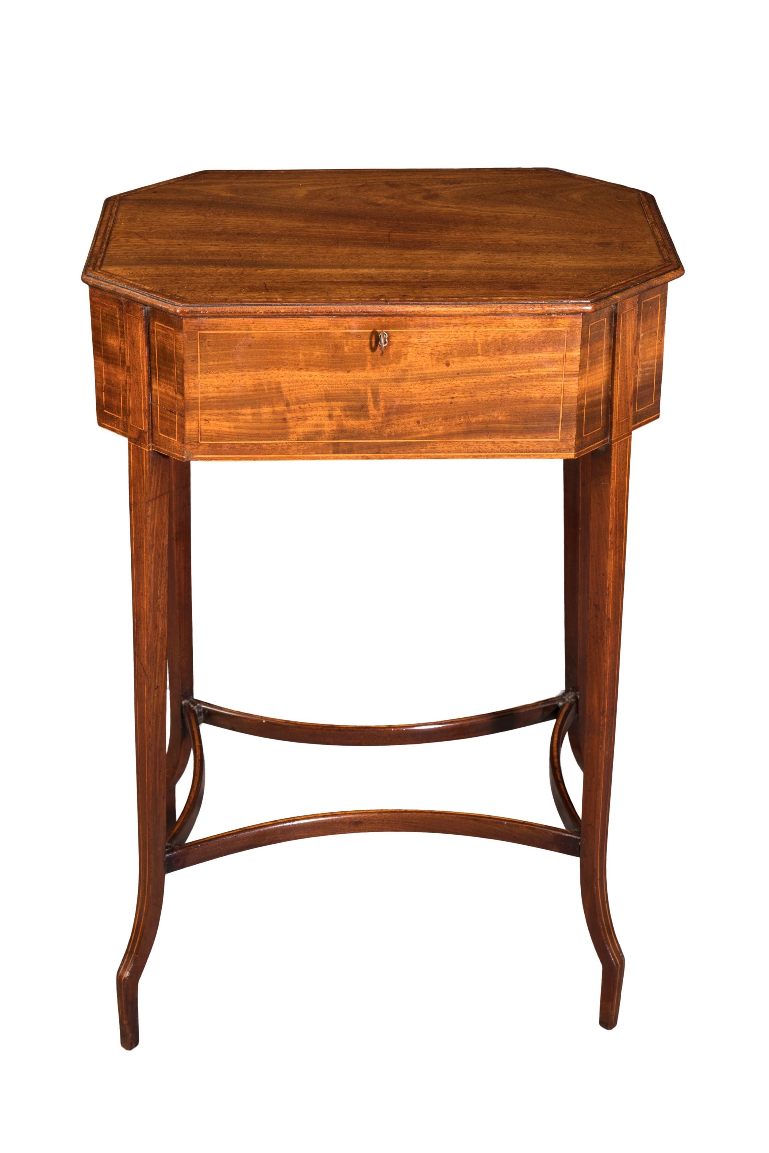 george iii mahogany work table circa 1810