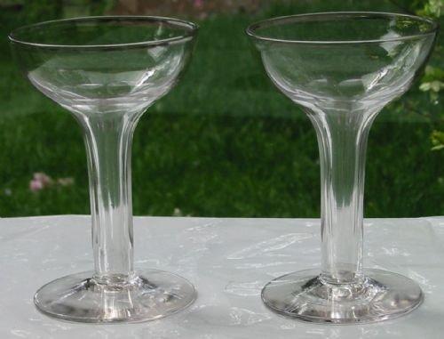 Pair hollow stem champagne glasses 162668 - Champagne flutes hollow stem ...