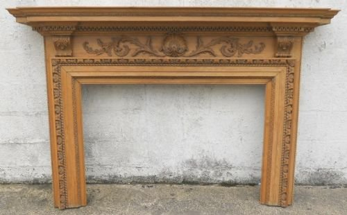 georgian style pine fire surround