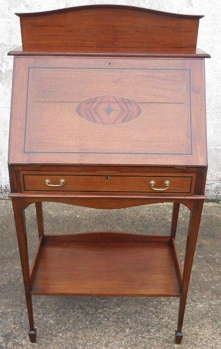 edwardian quality mahogany ladies writing bureau